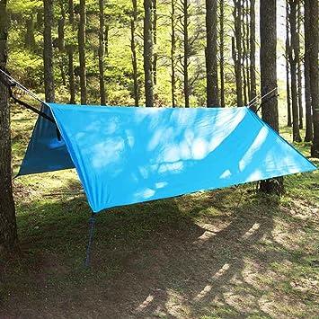 crayfomo 300x285cm Tragbare Leichte Wasserdichte Zeltplanen Sonnenschir Tent Tarp Camping Shelter Sonnenschutz f/ür Camping Outdoor Travel