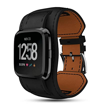 Fitbit Versa Smartwatch Accesorio Cuero Bracers Muñequera ...
