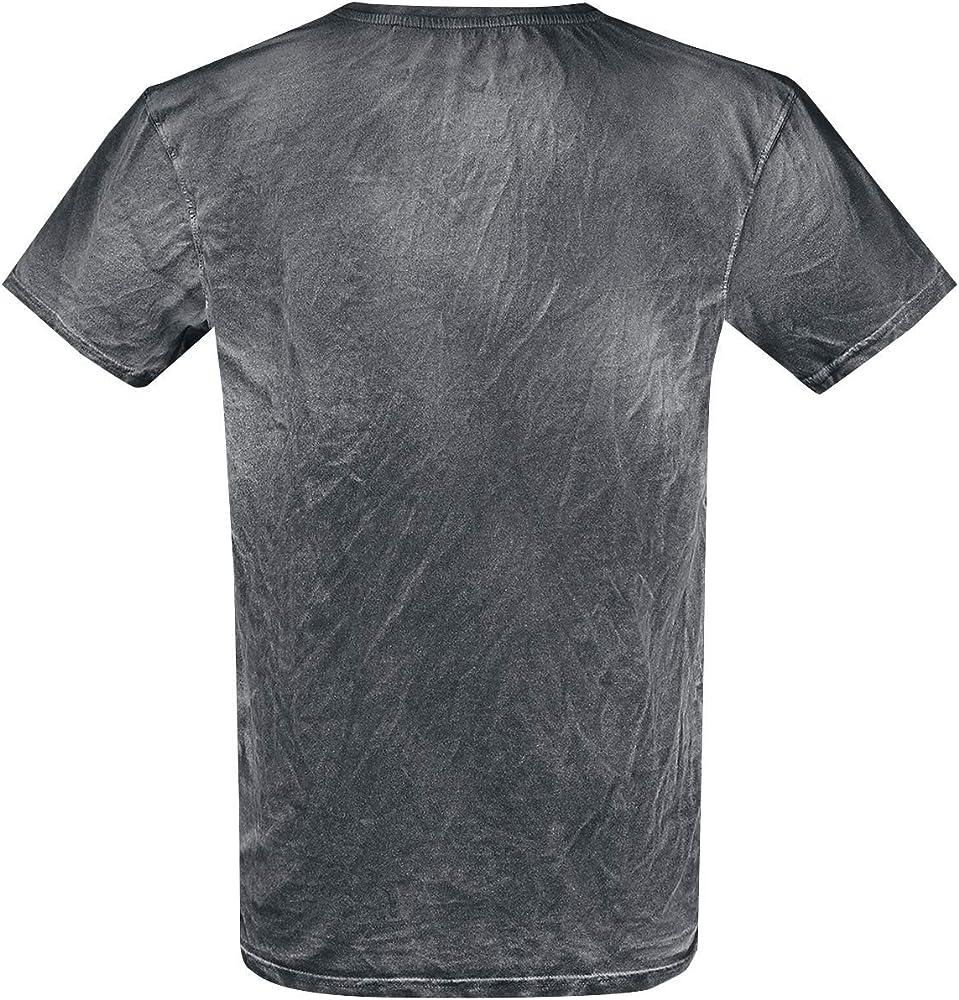 Tom und Jerry Scaring Tom Hombre Camiseta Negro S, 100% algodón, Regular: Amazon.es: Ropa y accesorios