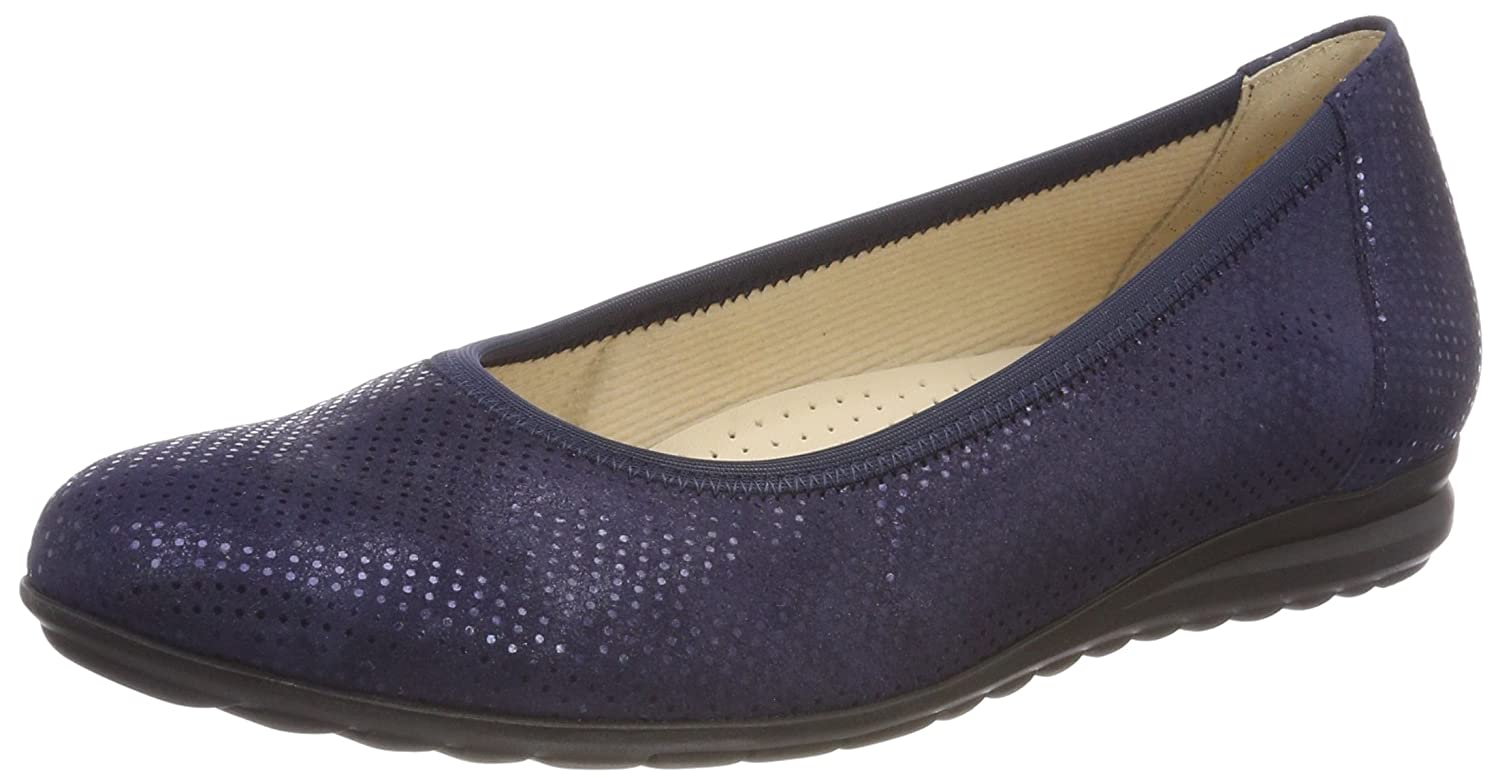 Gabor Shoes Comfort Comfort Shoes Sport, Ballerines Femme Bleu Ballerines (Nightblue 26) 146af88 - latesttechnology.space