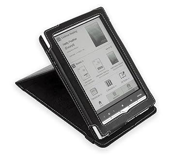 Cover-Up - Funda de Cuero para Sony PRS-650 Touch Edition con ...