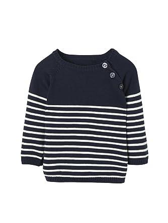 172bf3a81d8dc Vertbaudet Pull rayé bébé garçon  Amazon.fr  Vêtements et accessoires