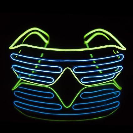 LED Iluminar Trajes Disfraces, JIAMA 2 Colores EL Alambre de ...