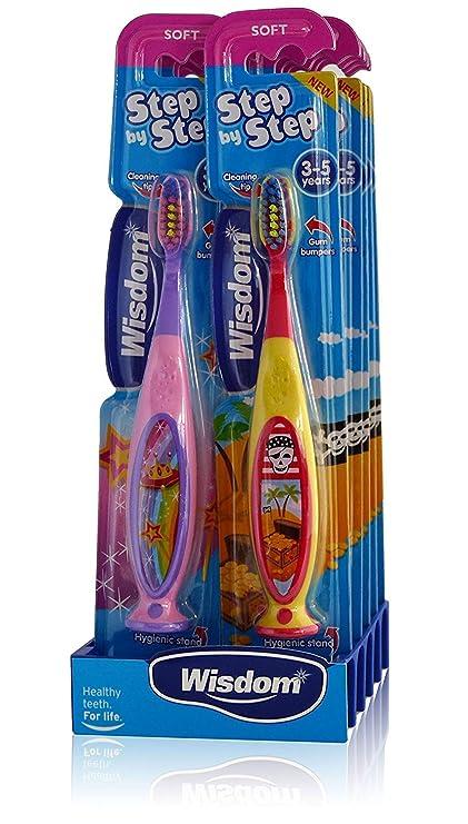 10 x sabiduría paso por paso suave - cepillo de dientes infantil ...