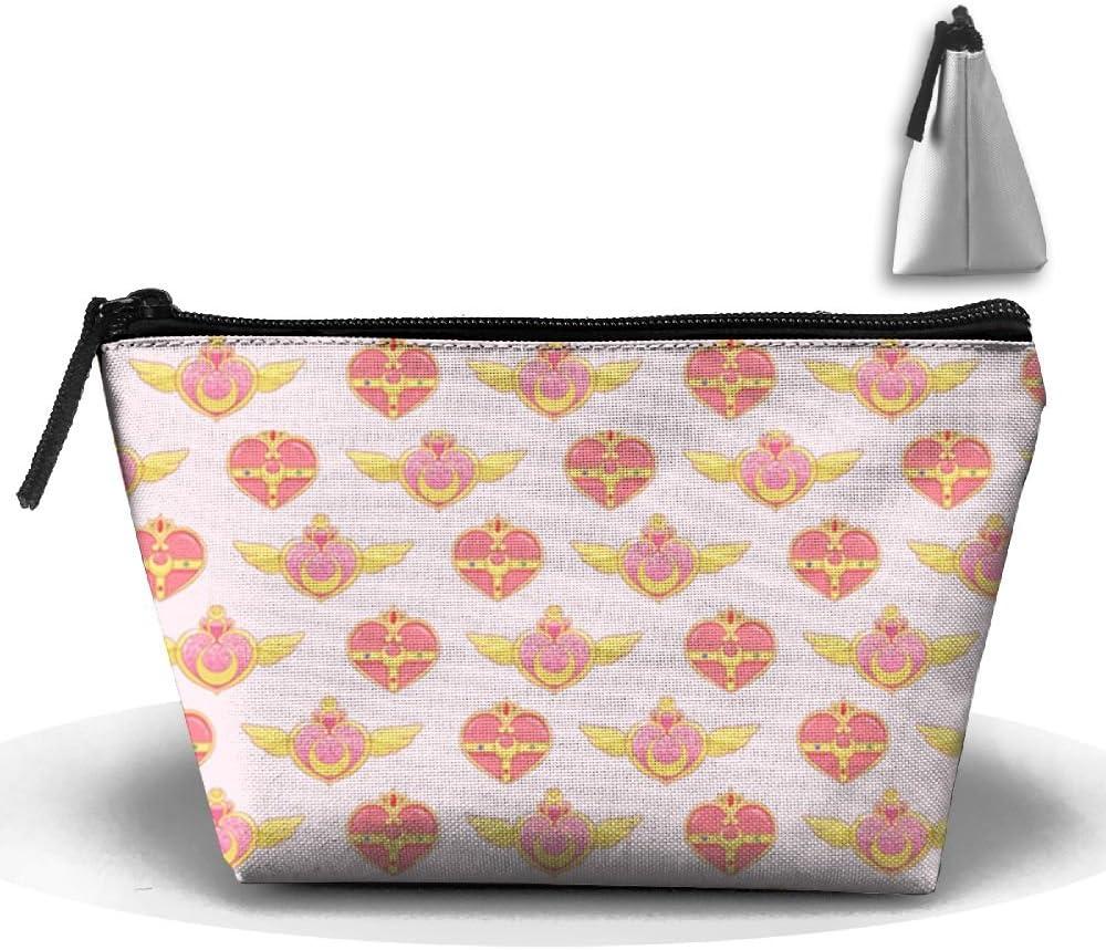 Sailor Scout broches vertical rosa estuche papelería bolsa neceser bolsa de cosméticos bolsa de almacenamiento: Amazon.es: Hogar