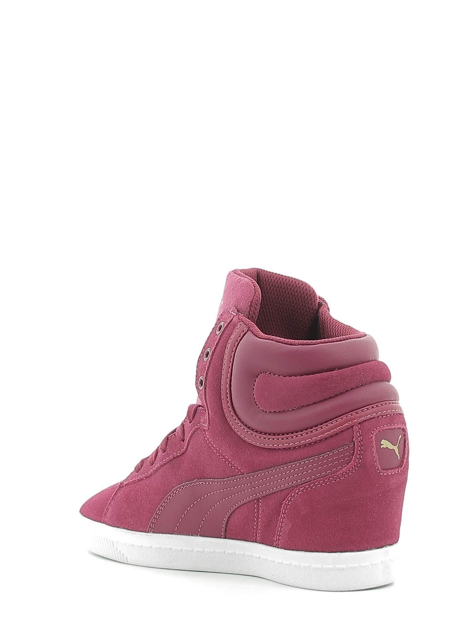 Puma - Vikky Wedge - 35724609 - Colore: Bordeaux - Taglia: 38.5