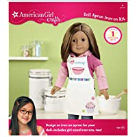 American Girl Crafts Doll Iron-on Kit, Apron