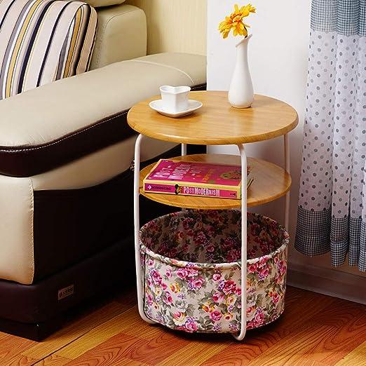 FRF Mesita pequeña- Mini Mesa de Centro Creativa para el hogar ...
