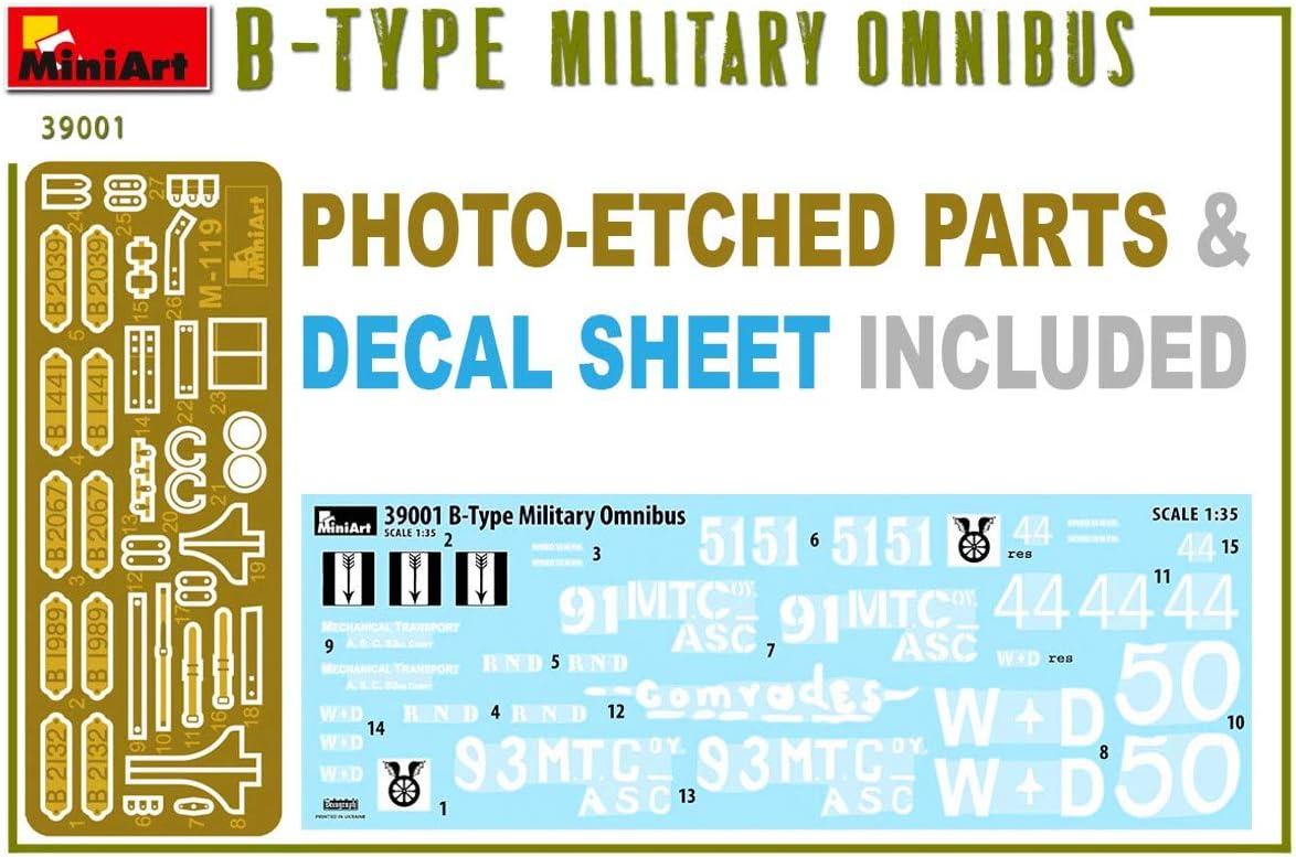 Miniart MIN39001 Detailed Plastic Model kit