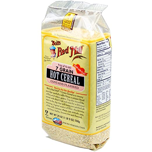 Bobs Red Mill 7 Grain Hot Cereal, 25 Ounce (Pack of 4)