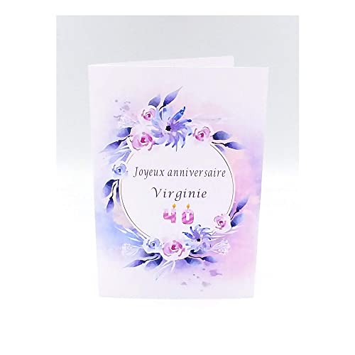 Carte Anniversaire Carte Anniversaire Personnalisable Carte Anniversaire Maman Carte D Anniversaire Femme Mamie Cadeau Pour Maman Joyeux Anniversaire Carte Amazon Fr Handmade