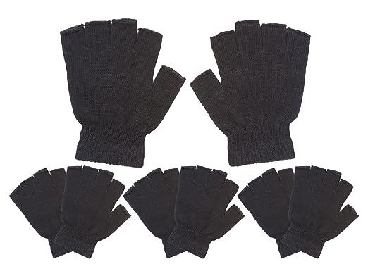 0a03e330ab9 Childrens Knit Warm Fingerless Gloves