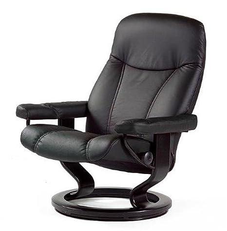 El estrés sin funda de piel con forma de sillón cómodo de ...
