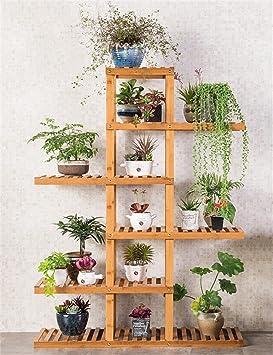 Estanterias para macetas rack para macetas libros frascos for Estanteria jardin plantas