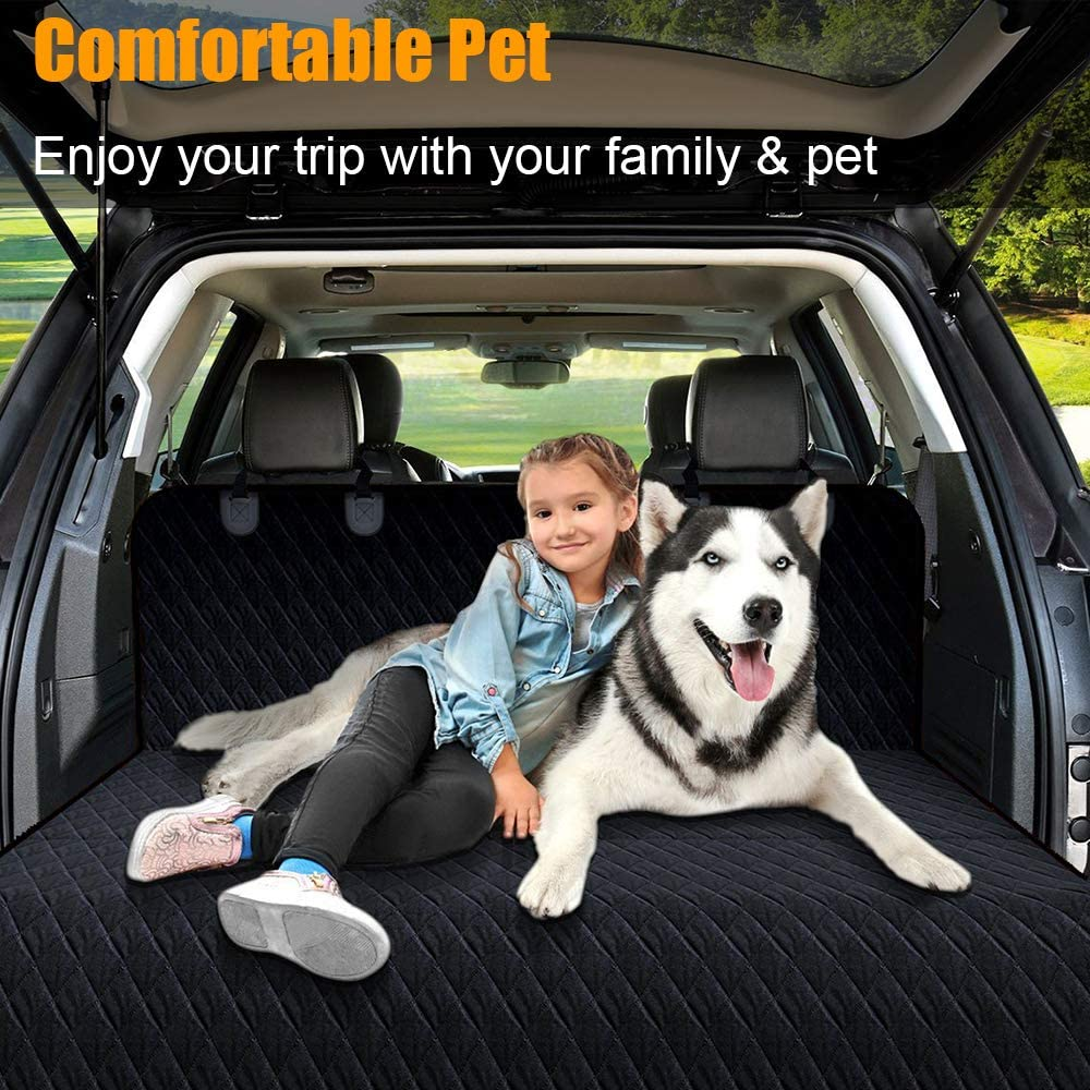 Fits Most Cars Trucks /& SUVs 100/% Waterproof/£/¬Nonslip /& Heavy Duty Hammock Keeps Your Car Seats Clean Extra Side Flaps/£/¬Seat Belt Openings Dog Seat Cover for Car Back Seat