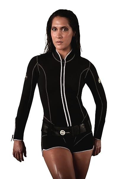 Amazon.com: Swish trajes de la mujer 3 mm Shorty Wetsuit ...