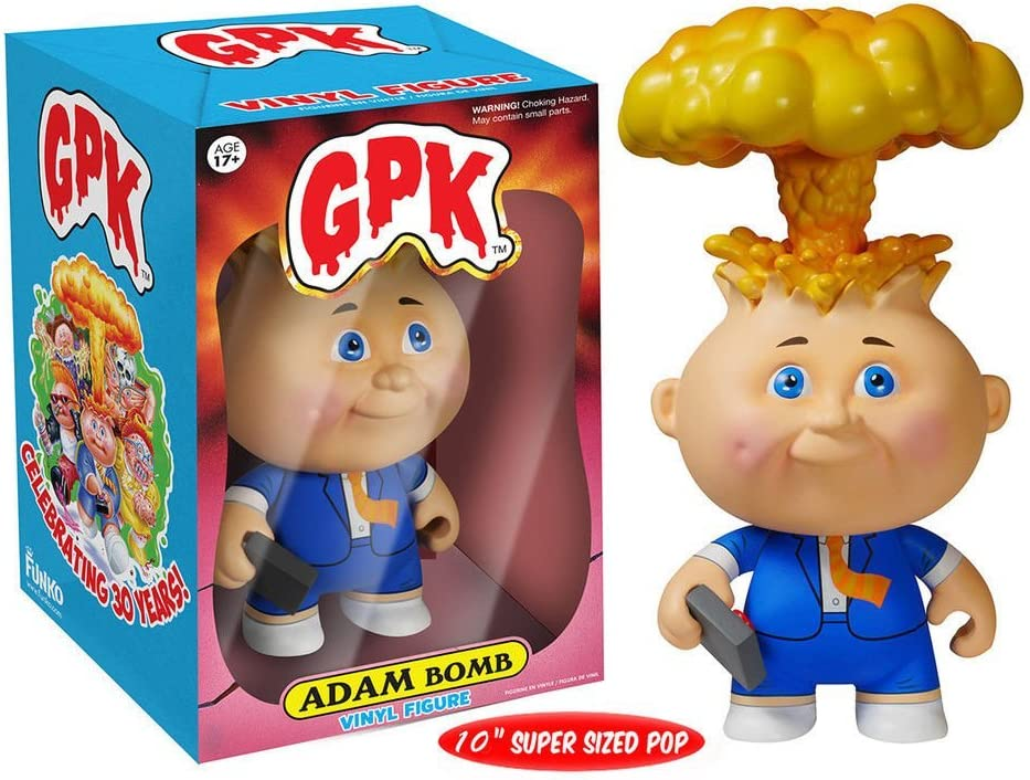 "Pop !Garbage Pail Kids 10/"" Adam Bomb Vinyl Figure Funko"
