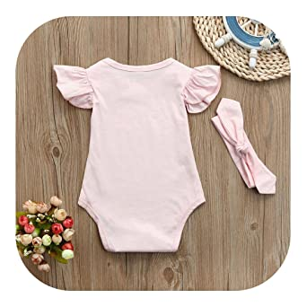 7facd2602 Amazon.com  Molyveva Baby Kid Girls Summer Sleeveless Romper ...