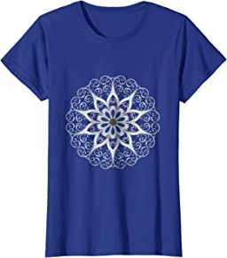 Adult Coloring Mandala T-shirt to Color Yourself