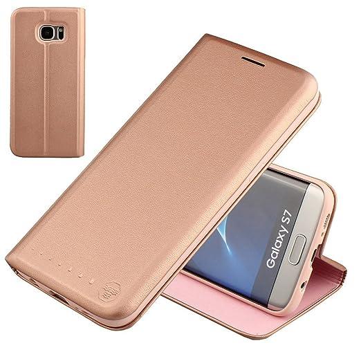 139 opinioni per Nouske Custodia a portafoglio per Samsung Galaxy S7/Guscio antiurto in TPU/Porta