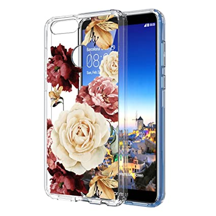 Amazon.com: Funda para Huawei Honor 7X, Mate SE, LEEGU ...
