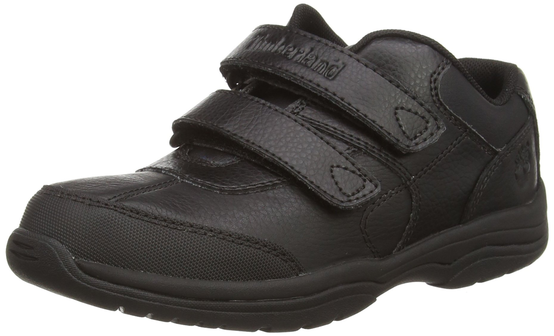 Timberland Woodman Park Hook-and-Loop Oxford (Toddler/Little Kid/Big Kid), Black, 7 M US Big Kid