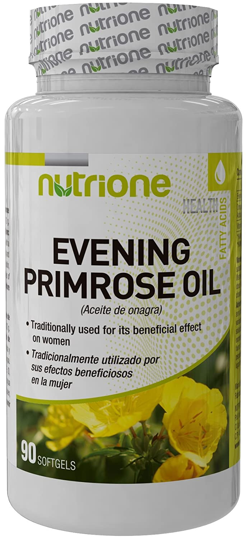 Nutrione - Aceite de Onagra - 90 Softgels [Nutrione]: Amazon.es: Salud y cuidado personal