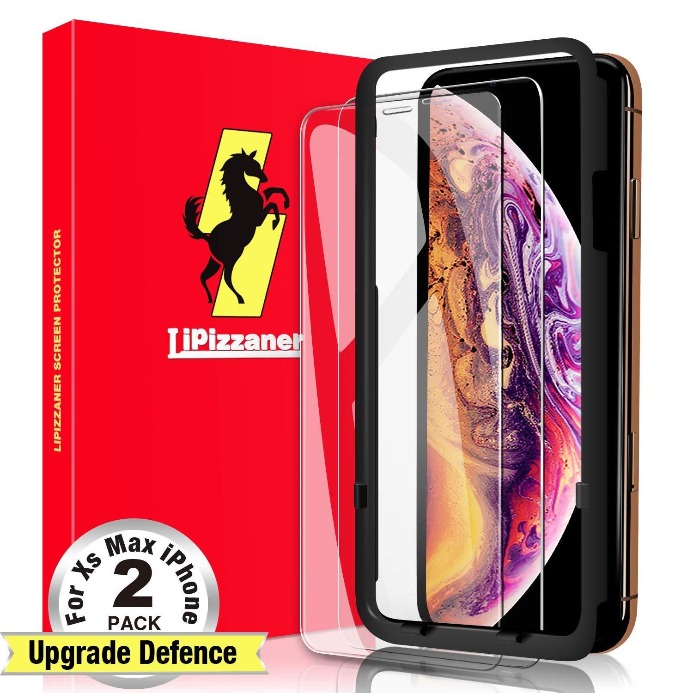 Vidrio Templado Para Iphone Xs Max [2 Un.] LIPIZZANER