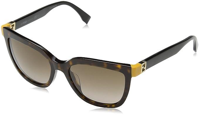 Fendi FF 0128/S J6 TRD Gafas de Sol, Negro (Dkhavan Black ...