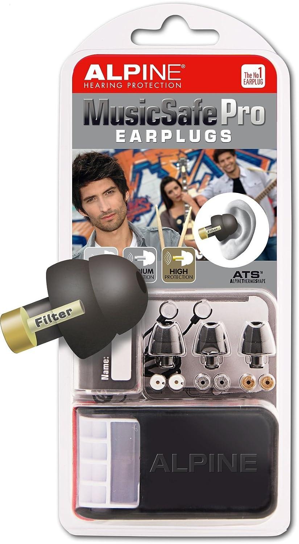 Alpine MusicSafe Pro Filter Ohrstöpsel - Silber Alpine Gehörschutz Silber