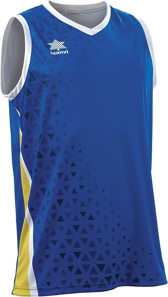 Luanvi Basket Cardiff Camiseta Deportiva sin Mangas de Baloncesto ...