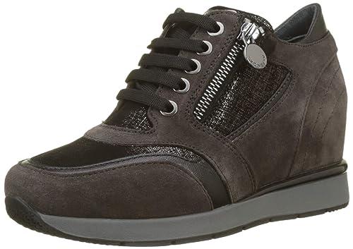 Stonefly Jackie 10 Velour, Zapatos de Cordones Derby para Mujer: Amazon.es: Zapatos y complementos
