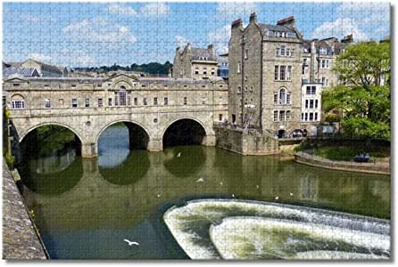 Amazon.com: UK England Bath Pulteney Bridge Jigsaw Puzzles ...