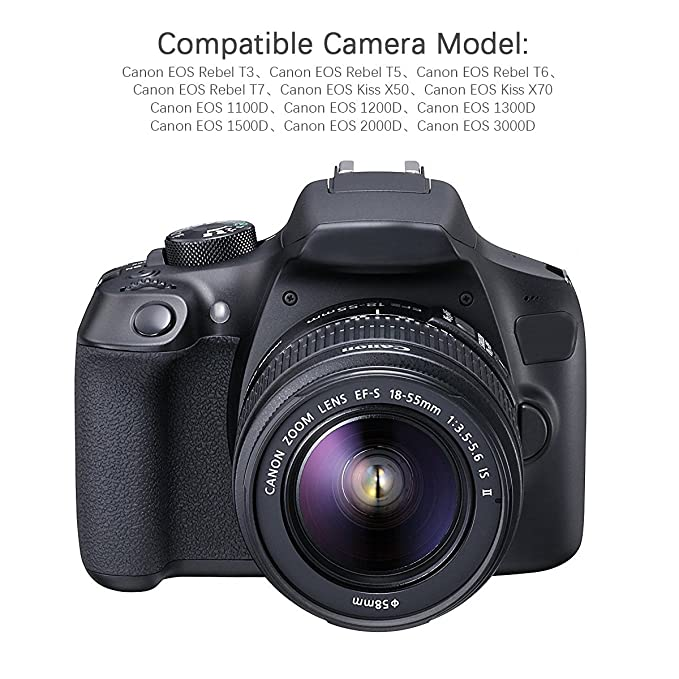 Bonacell - Juego de 2 baterías de Repuesto para cámara Canon LP ...