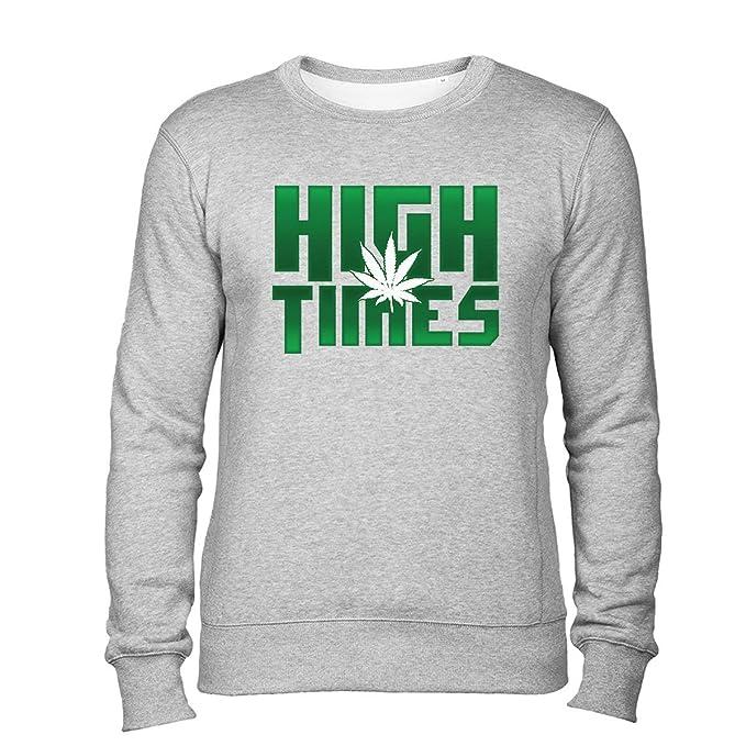 Cannabis Edition High Times Unisex Sudadera Gris XXL: Amazon.es: Ropa y accesorios