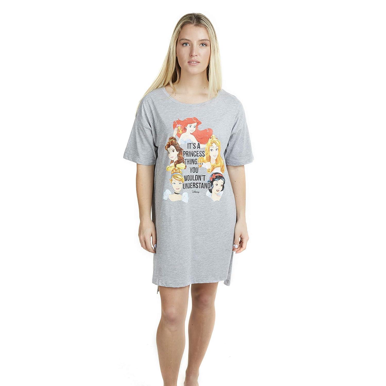 Disney A Princess Thing Sleep Tee Camicia da Notte Donna