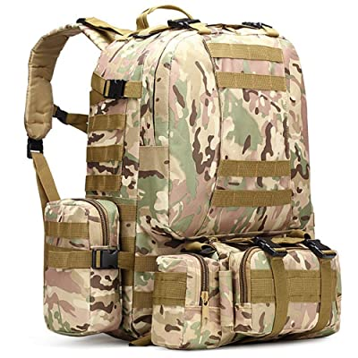 2017 Multifunction Sport Bag Tactical Bag Water Resistant Camouflage Backpack for Outdoor Climbing Hiking Camping 12Colors