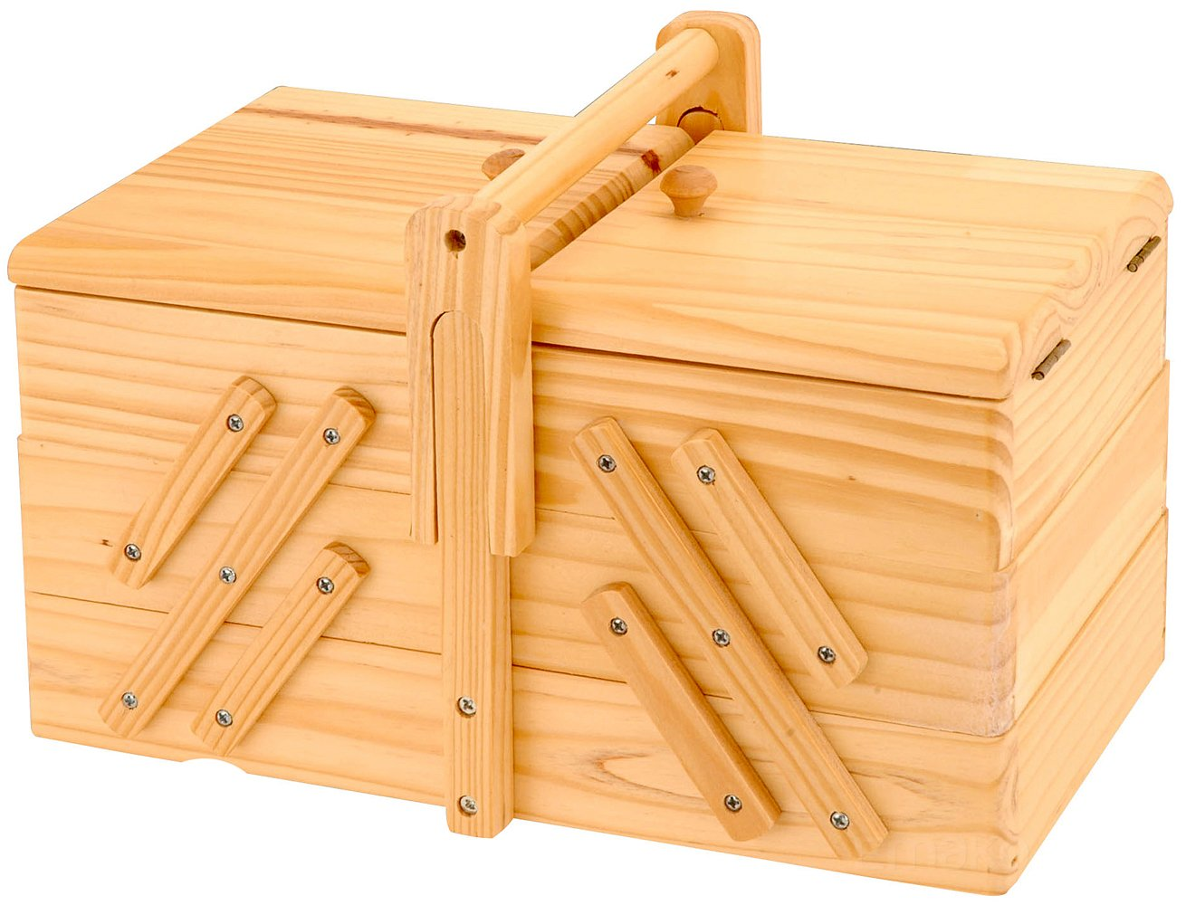 Classic Sewing Box with 5 Compartments EMAKO