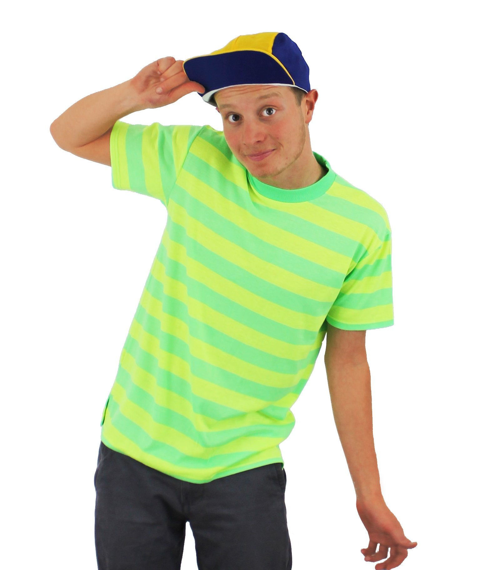 ILOVEFANCYDRESS Bel Air Prince Costume 90s Fancy Dress Retro 1990s TV Character - Size XLarge