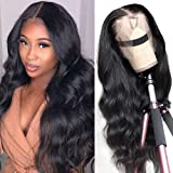 Body wave Lace Front Human Hair Wig Brazilian Virgin Human Hair 13X4 Lace Frontal Wig 150% Density Pre Plucked With Baby Hair