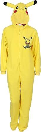 Pokemon - Pijama de una pieza - para hombre amarillo amarillo ...