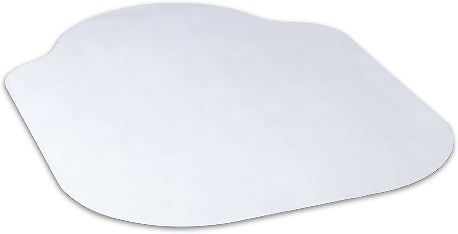 Evolve Modern Shape 36 x 48 Clear Office Chair Mat with Lip for Hard Floors, Made in The USA by Dimex, 15150630