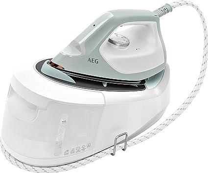Blanc//Turquoise AEG 950008646 ST6-1-4LG Centrales vapeur RESILIUM