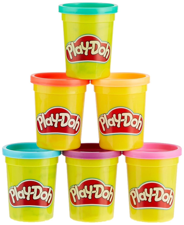 Play-Doh Hasbro C3897EU4/6/Pack Bright Colors