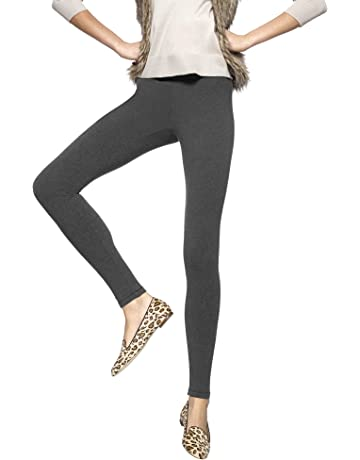 5657aa3a6df5f HUE Women's Cotton Ultra Legging with Wide Waistband