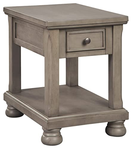 Signature Design by Ashley – Lettner End Table, Gray
