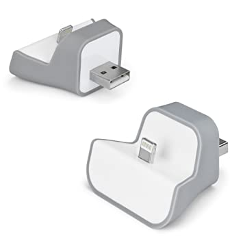 Amazon.com: Apple iPhone 5 plugdock y plugdock W/Cargador ...