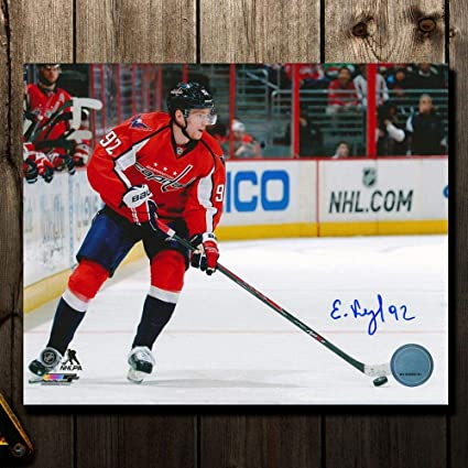 Image Unavailable. Image not available for. Color  Autographed Evgeny  Kuznetsov ... 885461c91
