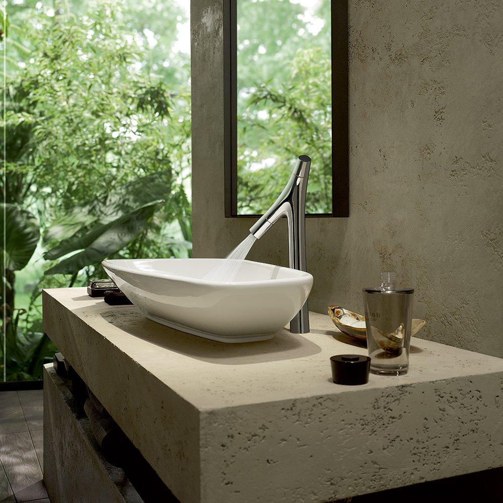 AXOR 12013001 Starck Organic HighRiser Chrome - Touch On Bathroom ...