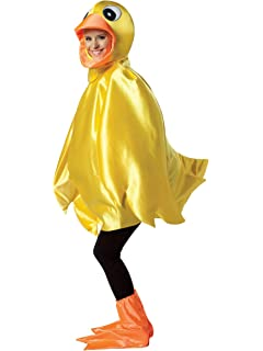 Amazon.com: Disfraz de Pato Amarillo y mascota Pato disfraz ...